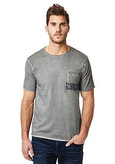 BUFFALO DAVID BITTON® Nafly Crew Neck Pocket Tee