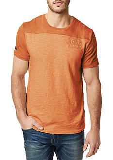 BUFFALO DAVID BITTON Niclut Short Sleeve Colorblock Shirt