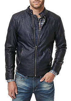 BUFFALO DAVID BITTON Jadid Pleather Quilted Jacket