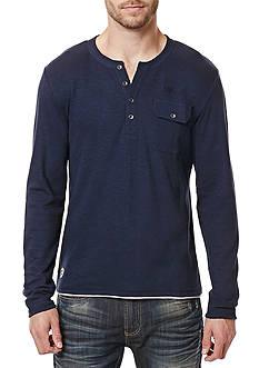 BUFFALO DAVID BITTON Kafeel Long Sleeve Henley Shirt