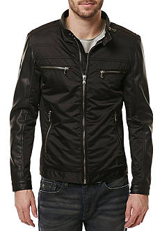 BUFFALO DAVID BITTON Jahip Mesh Panel Lightweight Jacket