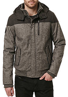 BUFFALO DAVID BITTON Jutanel Long Sleeve Hooded Jacket
