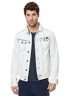 BUFFALO DAVID BITTON® Joe Acid Washed Denim Jacket