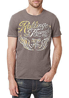 BUFFALO DAVID BITTON Short Sleeve 'Rolling Thunder' Graphic Tee