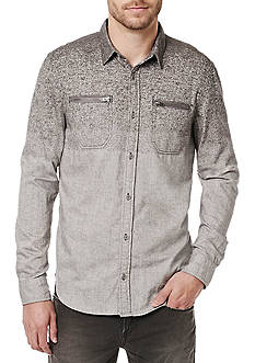 BUFFALO DAVID BITTON Long Sleeve Sifaro Woven Button Down Shirt