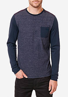 BUFFALO DAVID BITTON® Long Sleeve Kalong Knit Shirt