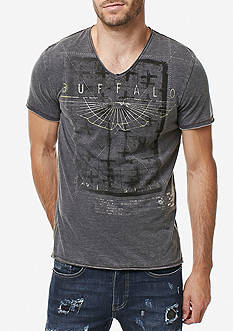 BUFFALO DAVID BITTON Short Sleeve Taburn Bo Graphic Tee