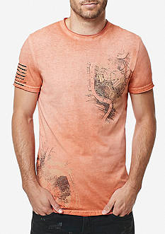 BUFFALO DAVID BITTON Short Sleeve Tajazz Graphic Tee