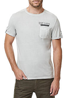 BUFFALO DAVID BITTON® Short Sleeve Kapong Utility Crew