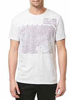 BUFFALO DAVID BITTON Short Sleeve Tilif Heathered Graphic Tee