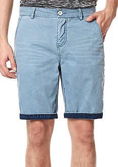 BUFFALO DAVID BITTON Hassa Washed 5-Pocket Shorts