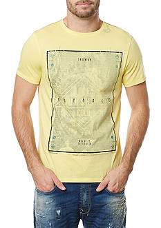 BUFFALO DAVID BITTON® Tabed Crew Neck Poster Graphic Tee