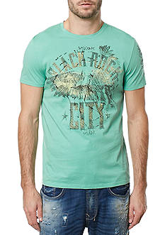 BUFFALO DAVID BITTON Short Sleeve Tilet Rockcity Graphic Tee