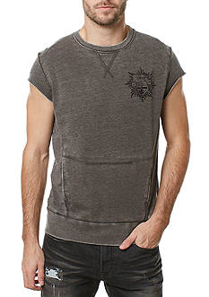BUFFALO DAVID BITTON Sleeveless Fabric Bo Terry Shirt