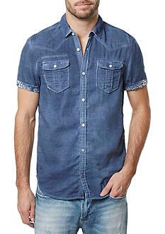 BUFFALO DAVID BITTON Short Sleeve Sirprox Woven Shirt