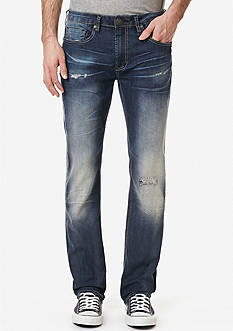 BUFFALO DAVID BITTON Ash Distressed Jeans