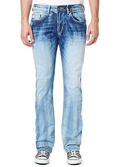 BUFFALO DAVID BITTON® King X Bleached Bootcut Jeans