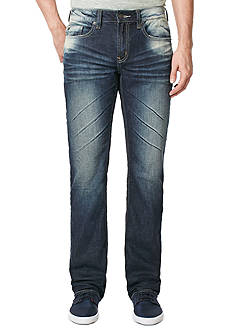 BUFFALO DAVID BITTON® Six X Vintage Wash Straight Fit Jeans