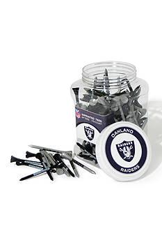 Team Golf Oakland Raiders 175 Count Imprinted Tee Jar