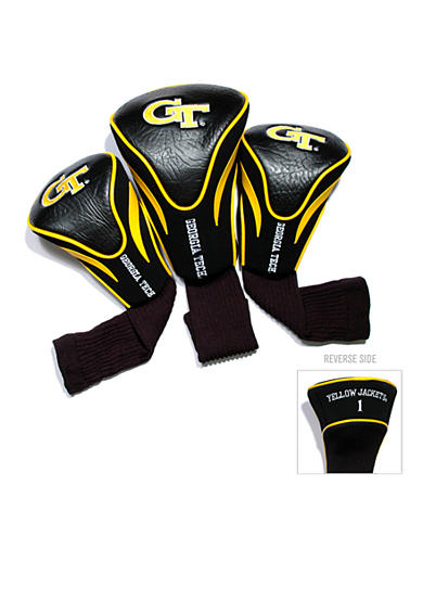 Team Golf Georgia Tech Yellow Jackets 3-Pack Contour Head Covers