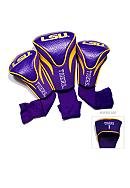 Team Golf LSU Tigers 3-Pack Contour Head Covers