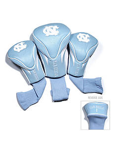 Team Golf UNC Tar Heels 3-Pack Contour Head Covers