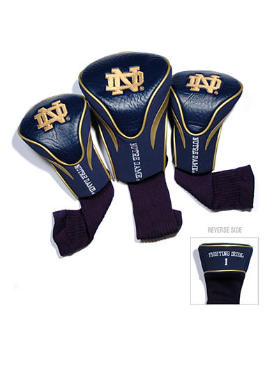Team Golf Notre Dame Fighting Irish 3-Pack Contour Head Covers
