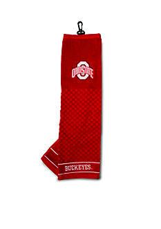 Team Golf Ohio State Buckeyes Embroidered Towel