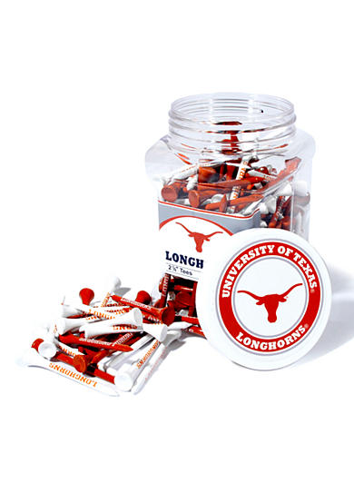 Team Golf Texas Longhorns 175 Count Imprinted Tee Jar