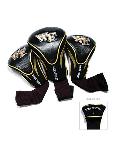 Team Golf Wake Forest Demon Deacons 3-Pack Contour Head Covers