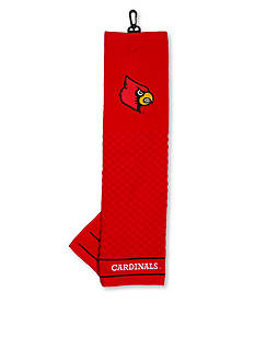 Team Golf Louisville Cardinals Embroidered Towel