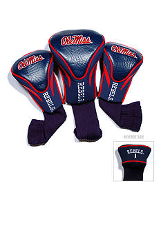 Team Golf Ole Miss Rebels 3-Pack Contour Head Covers
