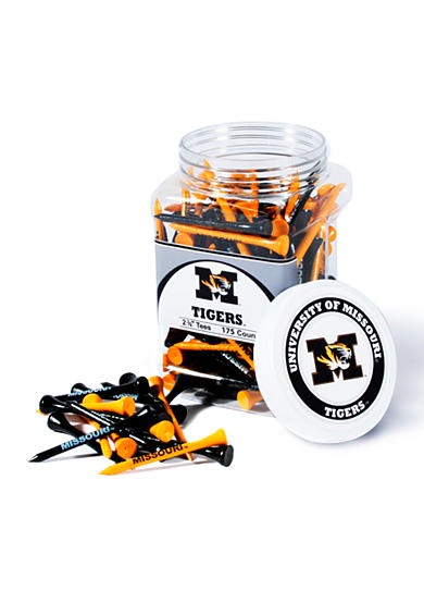 Team Golf Missouri Tigers 175 Count Imprinted Tee Jar