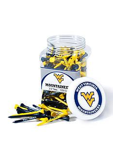 Team Golf West Virginia Mountaineers 175 Count Imprinted Tee Jar