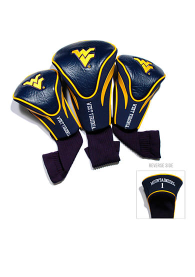 Team Golf West Virginia Mountaineers 3-Pack Contour Head Covers