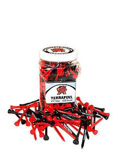 Team Golf Maryland Terrapins 175 Count Imprinted Tee Jar