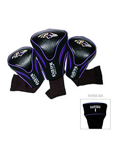 Team Golf Baltimore Ravens 3-Pack Contour Head Covers