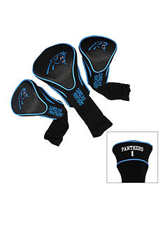 Team Golf Carolina Panthers 3-Pack Contour Head Covers