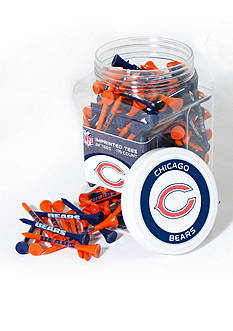 Team Golf Chicago Bears 175 Count Imprinted Tee Jar