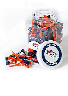 Team Golf Denver Broncos 175 Count Imprinted Tee Jar