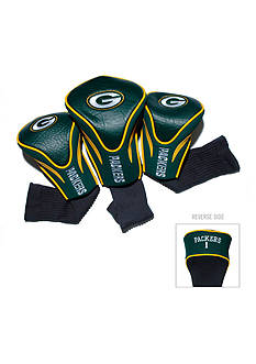 Team Golf Green Bay Packers 3-Pack Contour Head Covers
