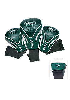 Team Golf New York Jets 3-Pack Contour Head Covers