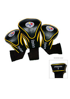 Team Golf Pittsburgh Steelers 3-Pack Contour Head Covers
