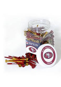 Team Golf San Francisco 49ers 175 Count Imprinted Tee Jar