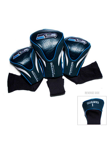 Team Golf Seattle Seahawks 3-Pack Contour Head Covers