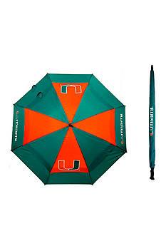 Team Golf University of Miami Umbrella
