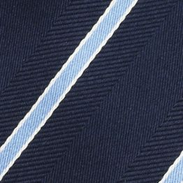 Men: Izod Accessories: Navy IZOD Stripe Tie