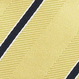 Men: Izod Accessories: Yellow IZOD Stripe Tie