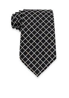 IZOD Grid Pattern Tie