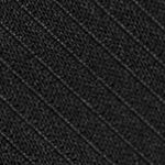 Black Tie: Black Calvin Klein King Cord Solid Tie